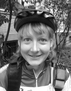 Katrin 51 - Fahrradkurierin