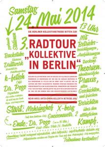 "3. Radtour ""Kollektive in Berlin"" - Samstag, 24. Mai 2014"