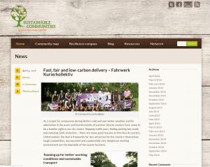 Fahrwerk auf sustainable-communities.eu